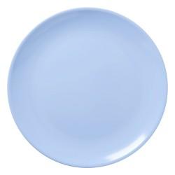 Piatto pizza azzurro
