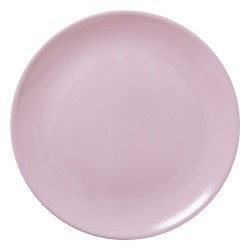 Pink pizza plate