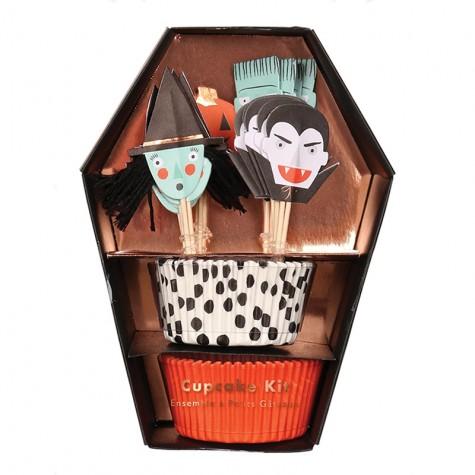 Pirottini e decorazioni per cupcake di Halloween