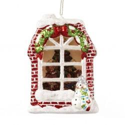 Decorazione natalizia - Finestra di Natale