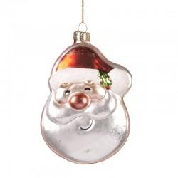 Decorazione natalizia - Babbo Natale allegro