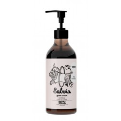 Sapone naturale per le mani in dispenser
