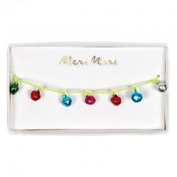 Braccialetto natalizio con campanellini