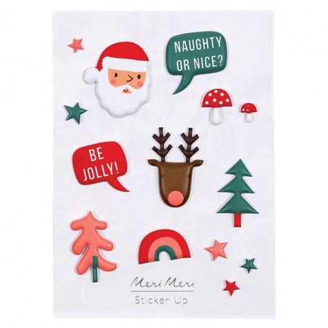 Stickers natalizi 3D