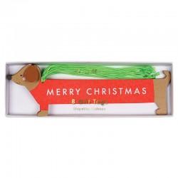 Etichetta regalo Merry Christmas
