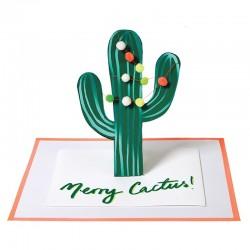 Biglietto di auguri Merry Cactus