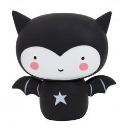 Salvadanaio bimbo a forma di pipistrello