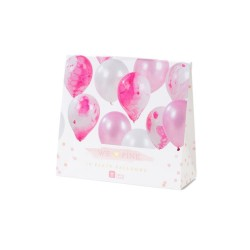 Palloncini Pink Marble