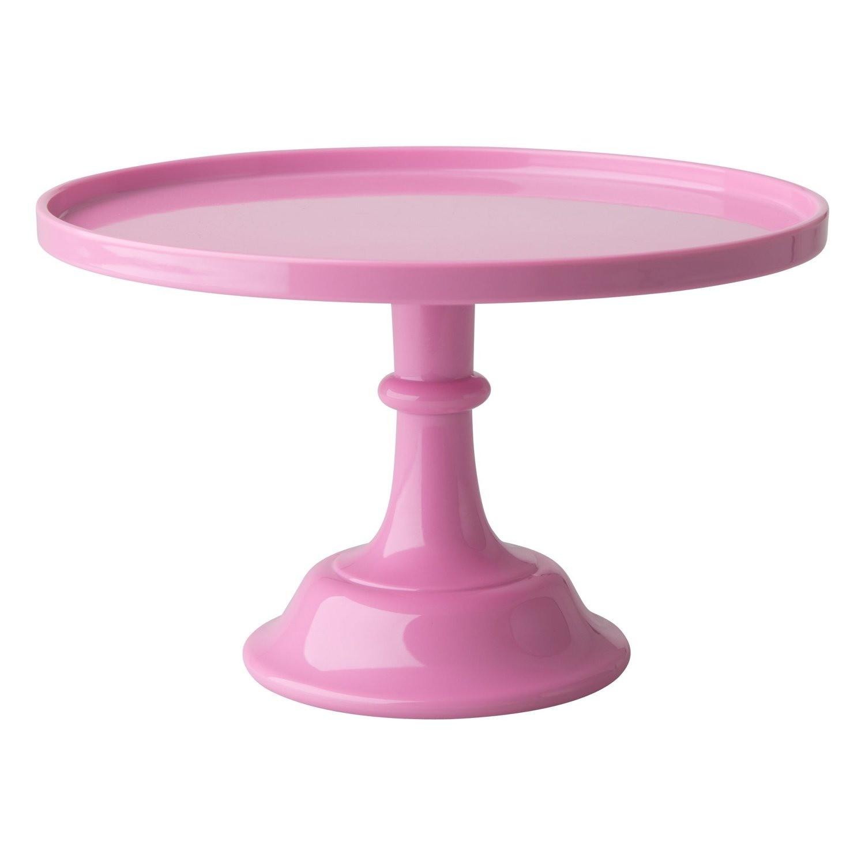 Pink melamine cake stand - GallinaSmilza