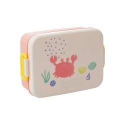 Lunchbox corallo con divisore interno
