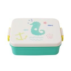 Lunchbox verde con divisore interno