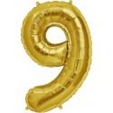 Palloncino dorato 9
