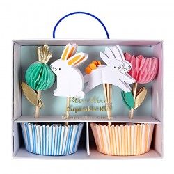 Pirottini e toppers per cupcakes di Pasqua