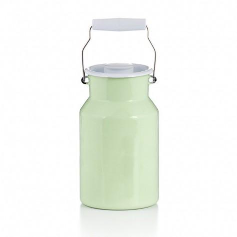 Contenitore per il latte con coperchio - verde
