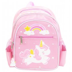 Zaino bimba con fantasia unicorno