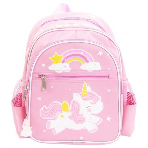 Zainetto rosa con fantasia unicorno