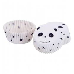 Pirottini cupcake con fantasia panda