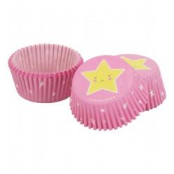 Pirottini cupcakes con fantasia stelline