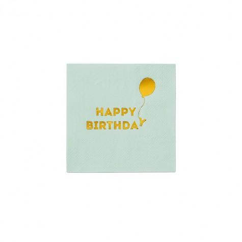 Tovagliolini Happy Birthday