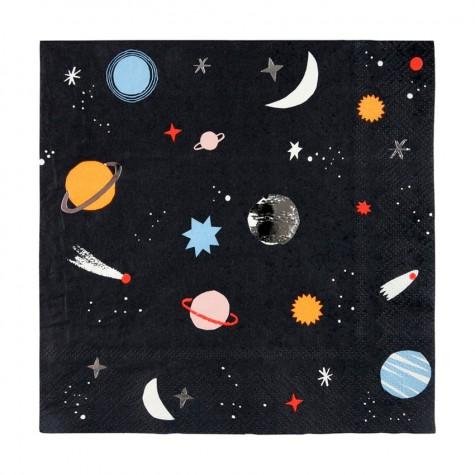 Tovaglioli di carta fantasia Space