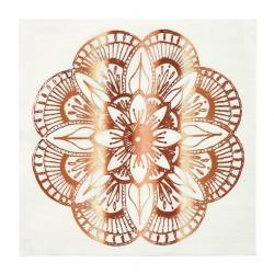 Tovaglioli di carta in stile Mandala