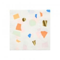 Tovagliolini di carta colorati