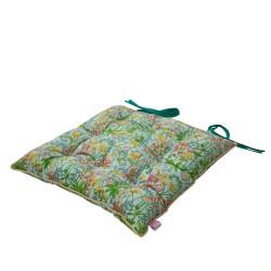 Cuscinetto per sedia con fantasia floreale