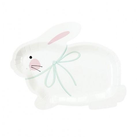 Piatti a forma di coniglietto