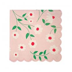 Tovagliolini di carta con fiori