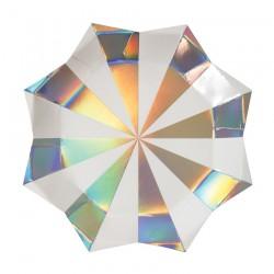 Piatti di carta a forma di stella