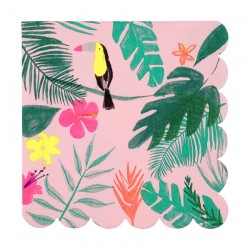 Tovaglioli di carta tema tropical