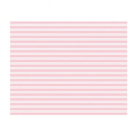 Tovaglia a righe rosa