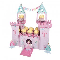 Centrotavola porta cupcakes delle Principesse