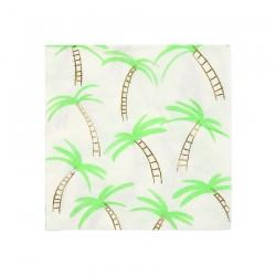 Tovagliolini di carta con fantasia tropicale