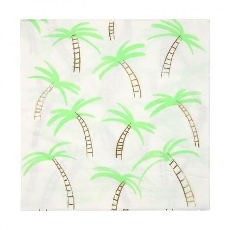 Tovaglioli di carta con fantasia tropicale