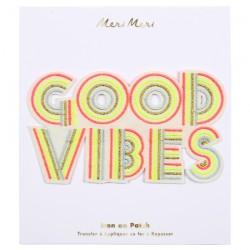 Toppa ricamata Good Vibes
