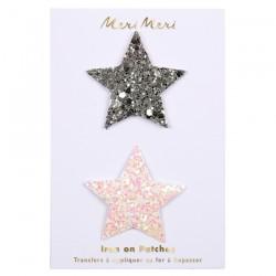 Toppa glitter a forma di stella