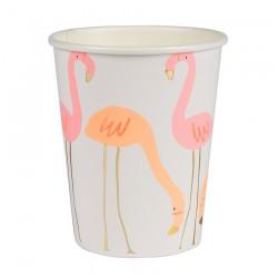 Bicchieri di carta Flamingo