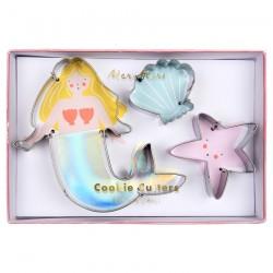 Stampini per dolci a tema Sirenetta