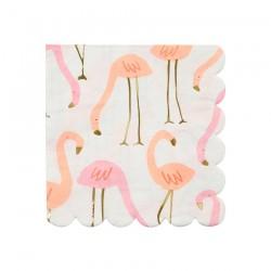 Tovagliolini di carta Flamingo