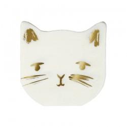 Tovagliolini di carta a forma di gatto