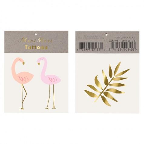 Tatuaggi temporanei Flamingo