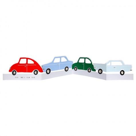 Biglietto di auguri automobili