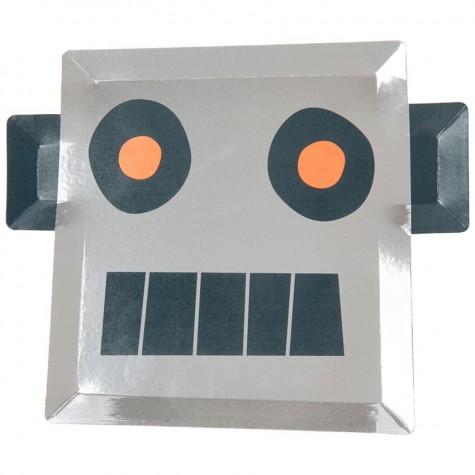 Piatti di carta robot