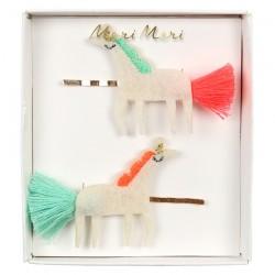 Fermagli per capelli a forma di unicorni