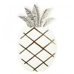 Tovaglioli di carta a forma di ananas