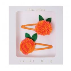 Fermagli per capelli a forma di mandarino