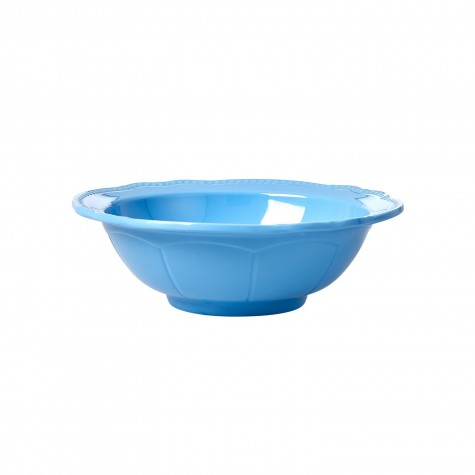 Melamine Bowl in New Look - Sky Blue