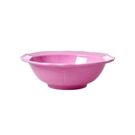 Melamine Bowl in New Look - Dark Pink