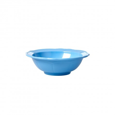 Melamine Bowl in New Look - Sky Blue - Small